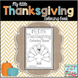 My Little Thanksgiving Coloring Book