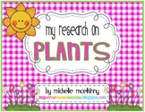 My Research on Plants {A Common Core Research Project}