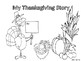 My Thanksgiving Tale Storybook Activities to Write and Publish