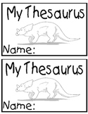 My Thesaurus Book Cover
