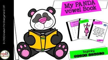 My PANDA Vowel Book