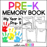 My Year in Pre- K: A Keepsake Booklet