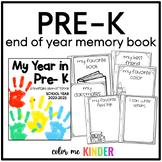 My Year in Pre- K: A Keepsake Booklet