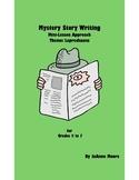 Mystery Circle Story Writing Grades 5 to 7