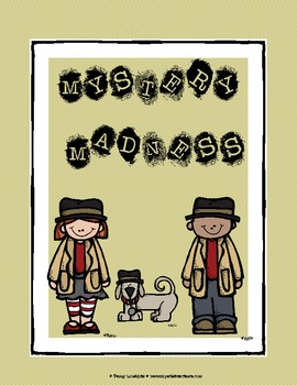 Mystery Madness Detectives {literacy and science activities}