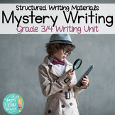 Mystery Writing: Activities for Grade 3 Writer's Workshop