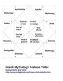 Mythology Fortune Teller