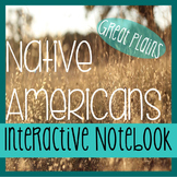 NATIVE AMERICANS- Social Studies Interactive Notebooking-