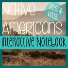 NATIVE AMERICANS- Social Studies Notebooking- Intro & Voca