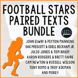 Paired Texts: NFL Legends Bundle
