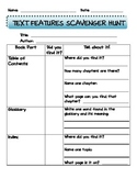 NFText Features Scavenger Hunt