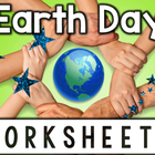 NO PREP Earth Day Printables: Literacy Center Reading Worksheets