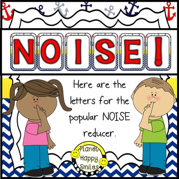 NOISE! Nautical (FREEBIE)