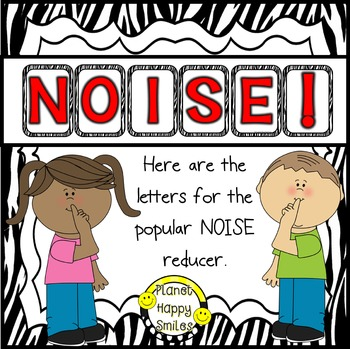 NOISE! Zebra Print (FREEBIE)