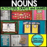 NOUNS: Project-Based Activities, Crafts and a Game for Grades 1-4