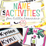 Name Activities for Preschoolers and Kindergartners