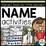 Name Activities for Preschoolers and Kindergartners