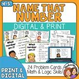Number Sense Task Cards