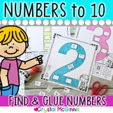 Numbers, Numbers, Numbers! Cut & Paste Number Recogniton P