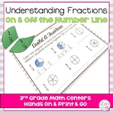 Naming Fractions On and Off The Number Line { 3.nf.1 & 3.nf.2 }