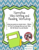 Narrative Mini- Reading and Writing Workshop