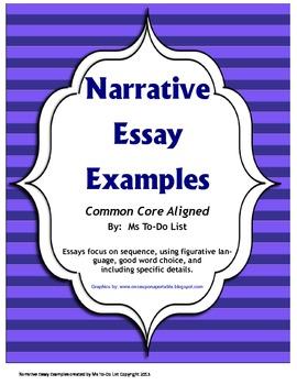 Narrative Writing Examples