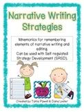 Narrative Writing Strategies & Mnemonics