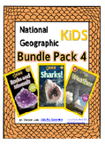National Geographic Kids Bundle Pack 4 {Sharks, Weather, R