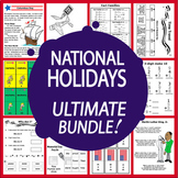 National Holidays Bundle-Common Core Aligned!