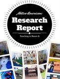 Native American Tribe Research Report Project {NO PREP}