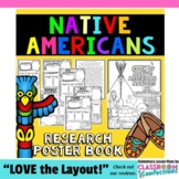 Native American Tribes Poster Activity Book