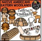 Native Americans-Eastern Woodlands Clip Art