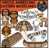 Native Americans-Eastern Woodlands Clip Art