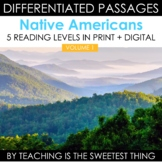 Native Americans: Leveled Close Reading Passages - Social
