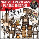 Native Americans-Plains Indians Clip Art