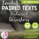 Natural Disasters Paired Texts Grades 4-8 (Constructed Response)