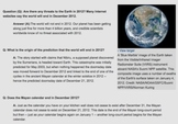Nature of Science: Mayan Calendar and the End of the World!