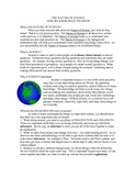 Nature of Science Student Background Reading