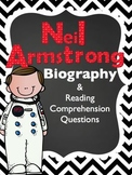 Neil Armstrong FREEBIE Biography Article & Reading Compreh