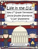 "New 2014 2nd Grade Tennessee Social Studies Standards ""I C"