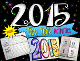 New Year Writing & Goals Activities for 2015 - Free
