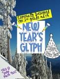 New Year's Glyph {January Math Glyph}