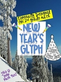 New Year's Glyph {January Math Glyph}