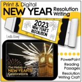 New Year's Resolutions - Minilessons, Leveled Passages & Craft