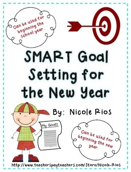 FREE New Year 2015 - SMART Goal Setting Flip Book