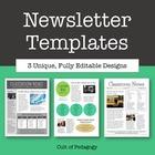 Newsletter Templates - Editable