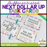 Next Dollar Up Task Cards: Money Skills [Special Education]
