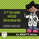 Next Generation Science Standards Checklist 3rd Grade