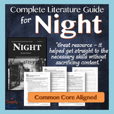 Night: Common Core Aligned Teaching Guide