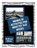 """Night"" Menus of Activities Based on Bloom's Taxonomy"